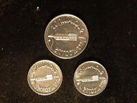 FRANCE REPUBLIQUE FRANCAISE 1962,1966 1 CENTIME & 1962 5 CENTIMES COIN! ZZ206XXX