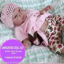 "Doll Kit ~ Reborn Doll Kit~ Rina by Michelle Fagan~ 20"" kit ~ make your own baby"
