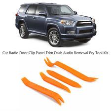 For Toyota 4pcs Plastic Car Panel Pry Tool Kit Door Body Clip Trim Removal Set