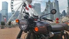 Griglia proteggi faro per Triumph Bonneville T120 Head Lamp grill Stone Guard