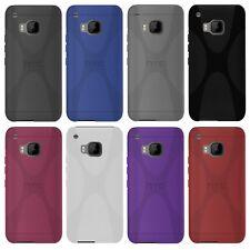 HTC One s9-x-style X-line TPU funda protectora protección, funda, estuche funda bolsa