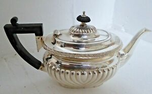 Antique Hackney Horse Society 1899 Mappin and Webb Silver Plated Teapot