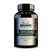 BRAWN 6 BROMO 90 capsules x 50 mg