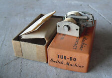 Vintage Tur-bo Swith Machine Positive Pressure Contact in Box