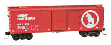 Great Northern 40' Double Sheathed Wood Boxcar Single Door MTL#04200150 N-Scale
