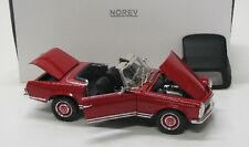 MERCEDES BENZ 280 SL Pagode/w113 (1969) Rouge/NOREV 1:18