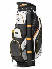 Callaway Forrester 19 Golf Cart Bag - Black/White/Orange