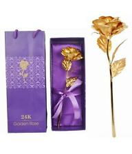 """24K Gold Plated Rose,10"""",Premium Quality  - BIRTHDAY / Mother's Day  GIFT"""