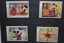 Mickey Mouse Collector Stamps (4) - Granada International Collector's Society LE