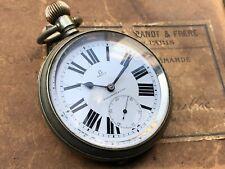 Montre Gousset OMEGA KIRBY BEARD GOLIATH pocket Watch Vintage