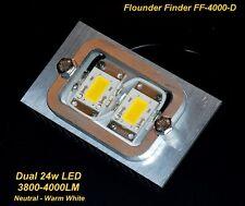 Dual LEDs  -  48w LED Flounder Finder 4000-D Gigging Light