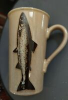 Trout Vintage Coffee Large Mug Great for Fisherman Man Cave