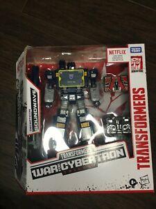Transformers NETFLIX War for Cybertron WFC Earthrise SOUNDWAVE Laserbeak Ravage