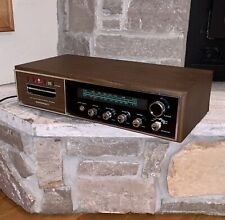 NM Working Masterwork Japan Made Wood-Grain 8-Track Player Stereo Received M-508
