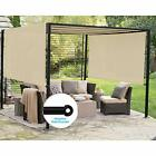 Patio Outdoor Shade Universal Replacement Pergola Canopy Shade Cover 10'X12' ...