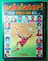 ALBUM CALCIATORI COLLEZIONE PANINI 1984/85 -COMPLETO , PERFETTO - RIF.187
