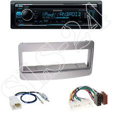 Kenwood KDC300UV CD/USB Radio + Toyota Avensis/Celica Blende silber +ISO Adapter