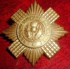 CAP BADGES-ORIGINAL BOER WAR/VICTORIAN LARGE BRODERICK BADGE SCOTS GUARDS