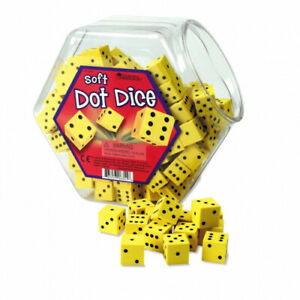 Learning Resources Hands On Soft Dot Dice Bucket. Shipping Included