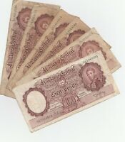 1935 Argentina 100 Pesos Banknotes Papermoney Lot of 6
