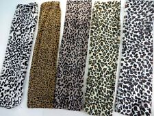 $6.25/p wholesale lot 6 Faux fur animal print furry fluffy plush infinity scarf