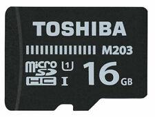 Toshiba Micro SD Karte 16gb - Class 10 - neu, original