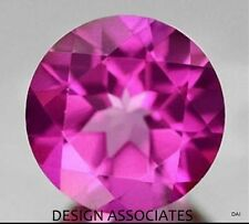 7 MM ROUND PINK MYSTIC TOPAZ NATURAL GEMSTONE BRAZIL VERY RICH COLOR AAA