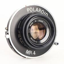 :Tominon 105mm f4.5 Lens in Polaroid MP-4 Shutter