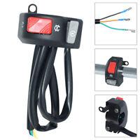 "Motorcycle 7/8""Handlebar Turn Signal Light ON-OFF Horn Button Start Kill Switch"