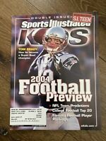 Sports Illustrated Kids NFL Football TOM BRADY Sept. 2004 Magazine