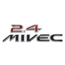 "Badge Emblem Logo ""2.4 MIVEC"" Red Trim Fits Mitsubishi Space Wagon 2004 2012"