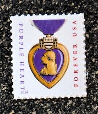 2015USA #5035 Forever Purple Heart  Mint medal wounded microprinting (2014 date)