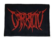 CARRION - Red Logo - Aufnäher / Patch - Neu #17250