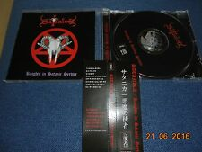 SATANICA KNIGHTS IN SATANIC SERVICE CD JAPAN OBI PRIVATE PRESSING 2004