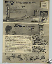 1971 PAPER AD Hot Wheels Moongoose Snake Race Cars Hot Birds Toy Airplanes
