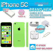 APPLE IPHONE 5C 32GB GREEN NUOVO SIGILLATO ORIGINALE GARANZIA ITALIA TOP VERDE