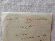 lettres anciennes académie française immortel académicien Henry Bordeaux