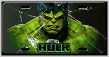 L@@K! HULK License Plate Vanity Auto Tag Incredible Hulk Avengers Bruce Banner