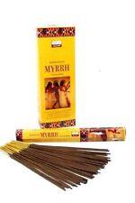 6 Box/Pack 120 Sticks total Darshan MYRRH Incense Fragrance from India my-2251