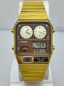Vintage Citizen Ana-Digi Gn-4-S Japan Watch