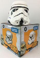 Star Wars Stormtrooper Helmet 2016 Zeon 3D Ceramic Mug & Lid ( Rare ) New-Boxed