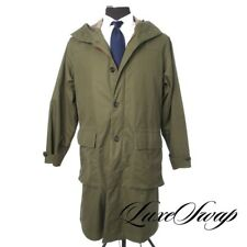 #1 MENSWEAR LNWOT Private White VC England Olive Ventile Ripstop Trench Coat 4