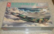 Vintage New Hobby Craft  Suchoisu 22U Fitter E  Model Airplane Kit 1:72