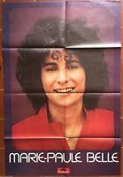 Affiche MARIE-PAUL BELLE Disques Polydor *