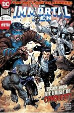 Immortal Men #2 Jim Lee Tynion Benjamin DC Universe Comic Book NM 5/9 ni