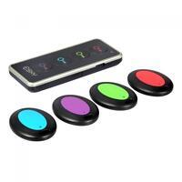 New 4 In 1 Wireless Alarm Non Lost Electronic Key Finder Locator Remote Control