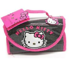 Hello Kitty Roll-Up Stationery Set (Memo Pad, Stickers, Pencil, Eraser...) *NEW*
