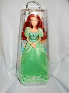 "Disney Princess The Little Mermaid Diamond Castle Collection Ariel 16"" Doll NEW"