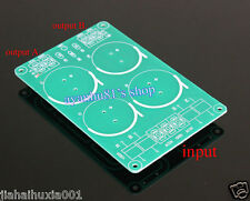 3-wire Full-wave Rectifier Filter Power Supply Filtering Board Bare PCB for 1969