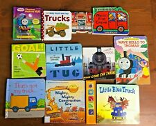 Lot 11 Boys Board Books Trucks Trains Thomas Usborne that's not my Little Blue